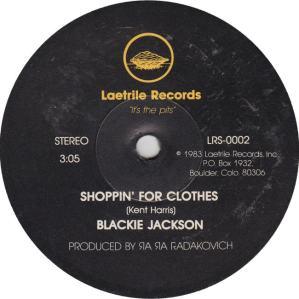 Laetrie 2 - Jackson, Blackie - A
