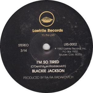 Laetrie 2 - Jackson, Blackie - B