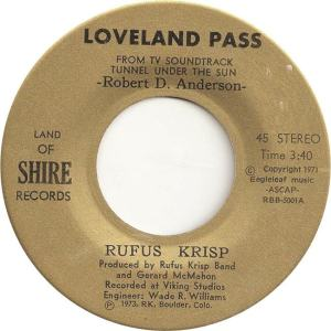 Land of Shire 1 - Krisp, Rufus - Loveland Pass