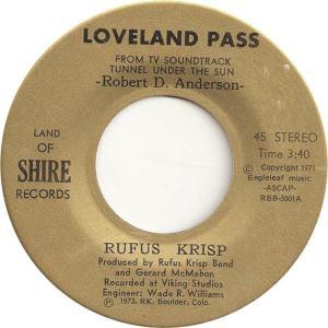 Land of Shire 1 - Krisp, Rufus - Loveland Pass