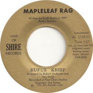 Land of Shire 1 - Krisp, Rufus - Mapleleaf Rag