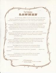 LAWMEN - BIO 3