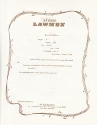 LAWMEN - BIO 7