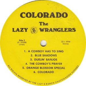 LAZY B WRANGLERS - LAZY B 197890 - RAA (2)A