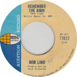 LIND BOB - VERVE FOLKWAYS 71822 ADD