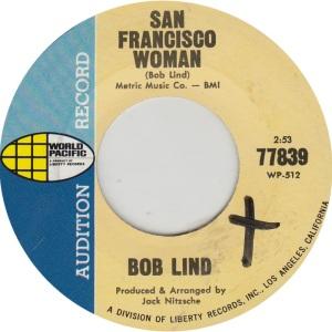 LIND BOB - WORLD PACIFIC 77839 DJ A
