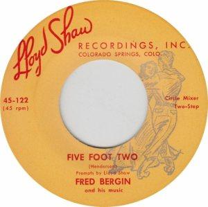LLOYD SHAW 121 - BERGIN FRED - B