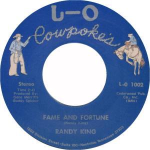LO COWPOKES - KING RANDY 1002 B