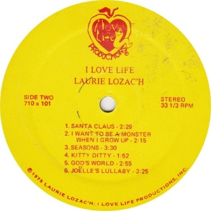 LOZACH, LAURIE - LOVE LIFE 710 - RAab (2)
