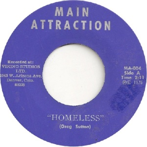 MAIN ATTRACTION 4 - MAIN ATTRACTION - HOMELESS