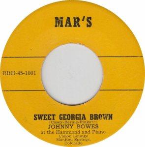 MARS 1001 - BOWES JOHNNY - A