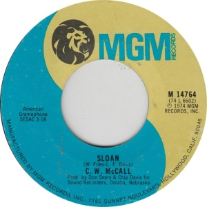 MCCALL CW - MGM 14801 B