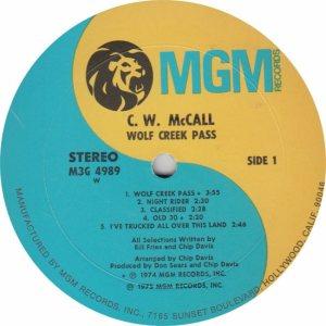 MCCALL CW - MGM 4989 - RA