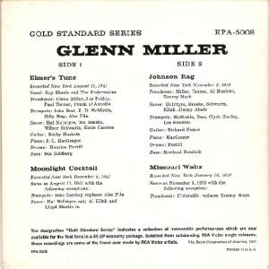 MILLER GLENN EP 10 - 1957 B