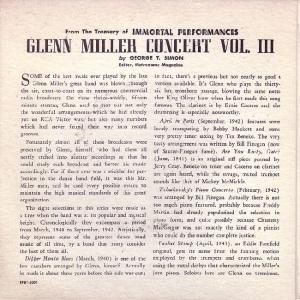MILLER GLENN EP 3 1952 - B