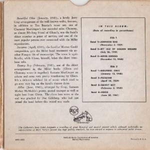 MILLER GLENN EP 4 - 1952 B