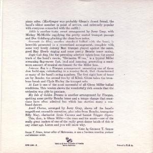 MILLER GLENN EP 7 - 1956 C
