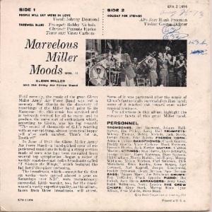 MILLER GLENN EP 8 - 1957 B