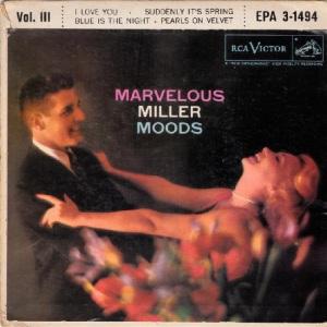 MILLER GLENN EP 9 - 1957 A