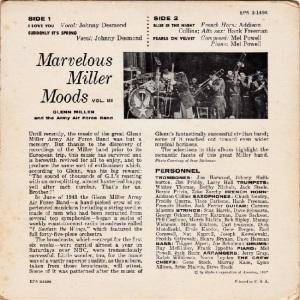 MILLER GLENN EP 9 - 1957 B