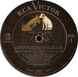 MILLER GLENN - RCA 1190 A