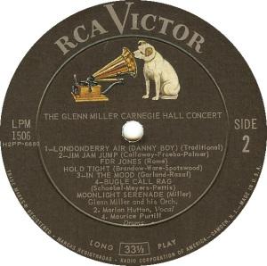 MILLER GLENN - RCA 1506 B