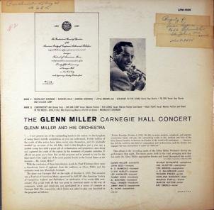 MILLER GLENN - RCA 1506 D