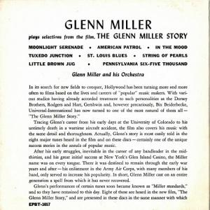 MILLER GLENN - RCA 3087 B