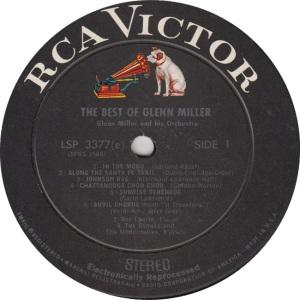 MILLER GLENN - RCA 3377 - RA