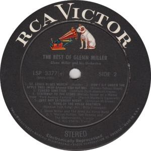 MILLER GLENN - RCA 3377 - RB