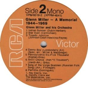 MILLER GLENN - RCA 4640 B