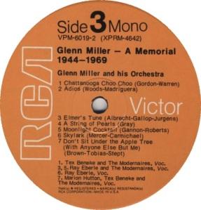 MILLER GLENN - RCA 4640 D
