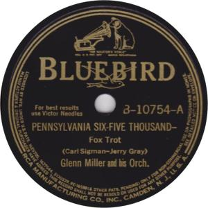 MILLER GLENN - RCA BB 10754 - 40 A