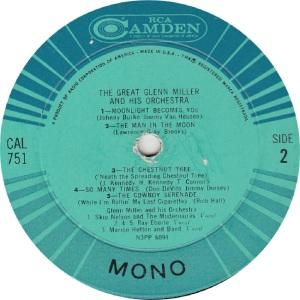 MILLER ORCHESTRA GLENN - RCA CAMDEN 751 - GREAT RAA (2)