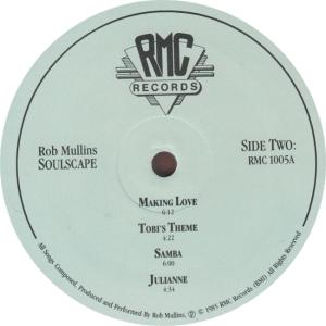 MULLINS ROB - RMC 1005 - A