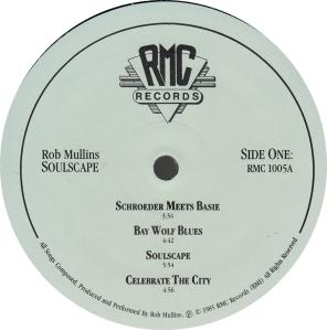 MULLINS ROB - RMC 1005 - B