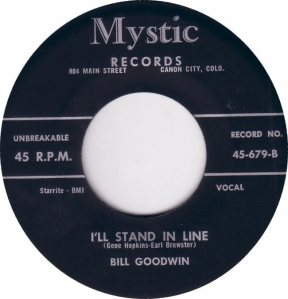 MYSTIC 679 - GOODWIN BILL - B