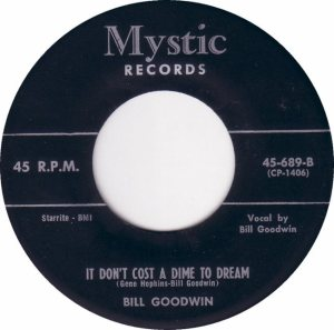 MYSTIC 689 - GOODWIN BILL - 58 B