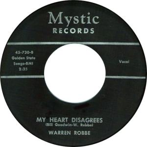 Mystic 730 - Robbe, Warren - My Heart Disagrees R