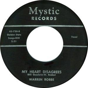 Mystic 730 - Robbe, Warren - My Heart Disagrees R