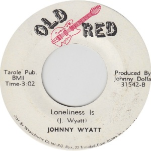 OLD RED 31542 - WYATT JOHNNY - RB