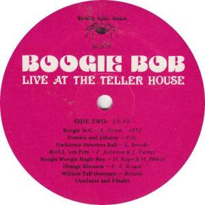 OLSON, BOB -- BARKING SPIDER 1 - TELLER HOUSE R1