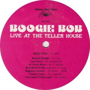 OLSON, BOB -- BARKING SPIDER 1 - TELLER HOUSE R2