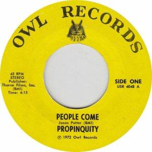 OWL 4048 - PROPINQUITY - 72 A