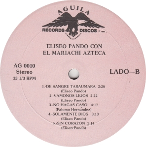 PANDO - AGUILA 10 - RB