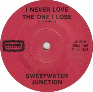 PANIC - SWEETWATER JUNCTION - NEVER LOVE