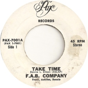 Pax 7001 - FAB Company - Take Time