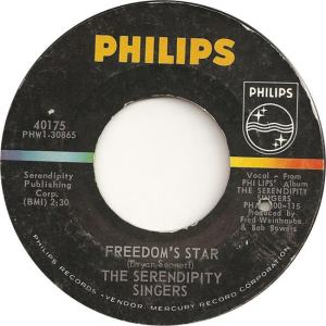 Philips 40175 - Serendipity Singers - Freedom's Star