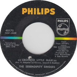 Philips 40175V - Serendipity Singers - Crooked Little Man