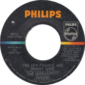 Philips 40215 - Serendipity Singers - New Frankie & Johnny Song